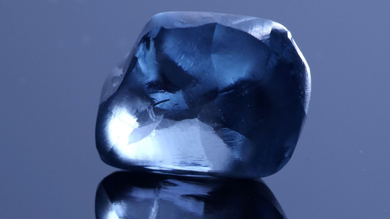 'Once-in-lifetime find': Botswana's largest ever blue diamond unveiled