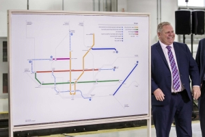 Toronto has 61 questions about province's transit plans