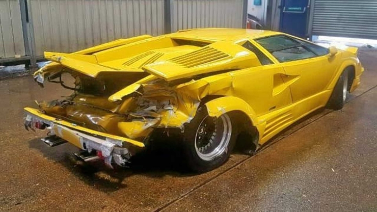 Ownership Why This Crashed 1989 Lamborghini Countach Breaks Our