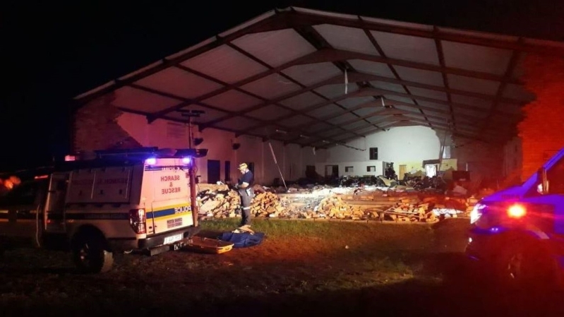 Image result for Easter Tragedy: Many dead as church collapses during service