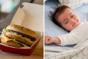 This Website Tracks Your Baby's Growth During Pregnancy By The Big Macs