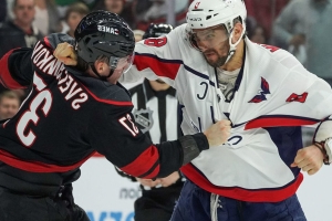 Hurricanes' Svechnikov: Ovechkin started Game 3 fight