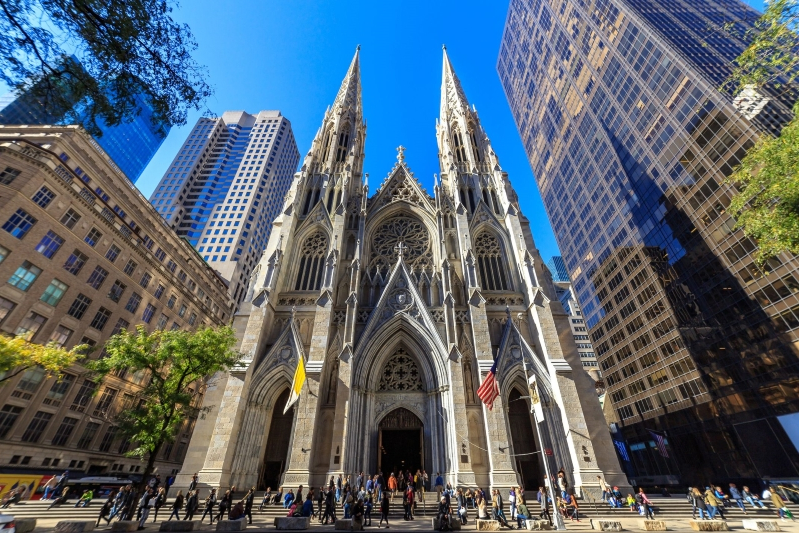 US: Man arrested in St  Patrick's Cathedral case had bought