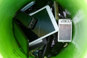 This is what happens to the e-waste you drop off for recycling