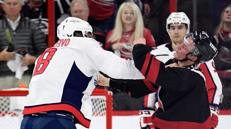 NHL playoffs 2019: Alex Ovechkin asked for fight, says concussed Andrei Svechnikov