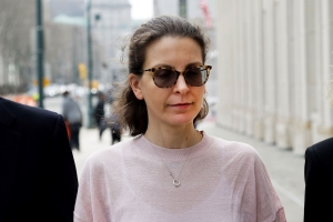 Seagram heiress Clare Bronfman pleads guilty in New York sex cult case