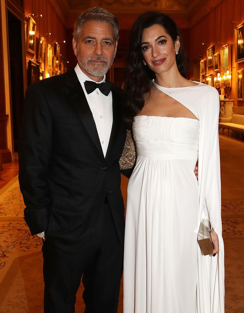 Entertainment: George and Amal Clooney Spend Easter in