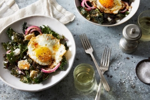 This Restaurant-Style Kale Salad Will Change Your Mind About Kale Salad