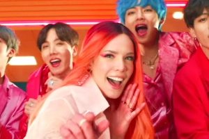 BTS and Halsey's 'Boy With Luv' becomes highest Billboard Hot 100 debut for K-pop group