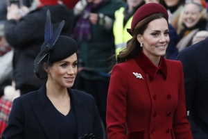 Feud rumours re-ignited after Meghan Markle left out of family portrait