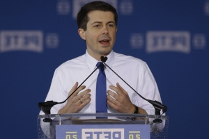 Pete Buttigieg breaks with Bernie Sanders on allowing felons to vote from prison