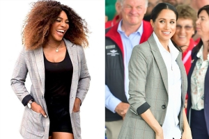 How Meghan Markle Is Influencing Serena William's Fashion Line: It Must Be 'Fit for a Royal Princess'