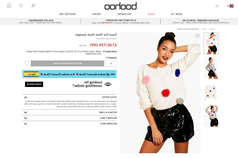 62935acf954 Money: Sales and profits surge at online retailer Boohoo - PressFrom ...