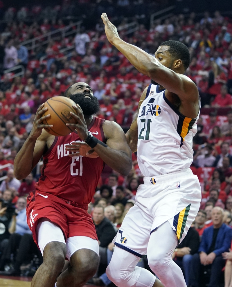 Sport: Harden Helps Rockets Eliminate Jazz With 100-93 Win