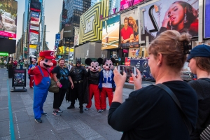 'Deadpool' busted for harassing a tourist in Times Square