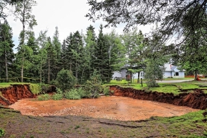 Small Nova Scotia town to begin tests of its famous, growing sinkhole