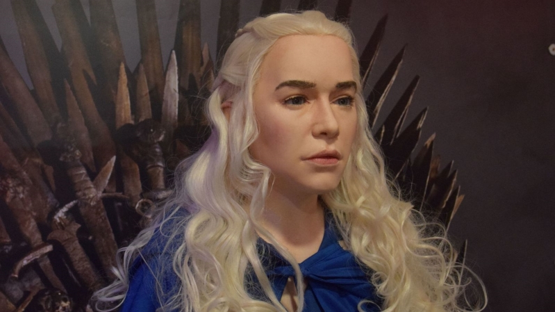 Offbeat Game Of Thrones Daenerys Waxwork Mocked By Fans Pressfrom Australia