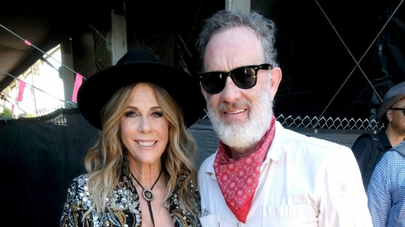 Entertainment: Tom Hanks Supports Wife Rita Wilson During ...