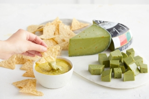 A supermarket is selling guacamole cheese that's meant to taste like the avocado dip for Cinco de Mayo