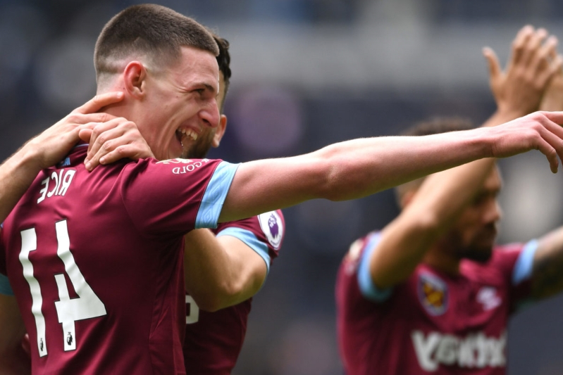 Atletico Madrid interested in West Ham star Declan Rice