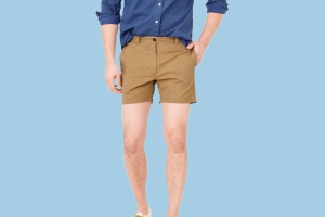 Get those man thighs ready: Short shorts for men are back