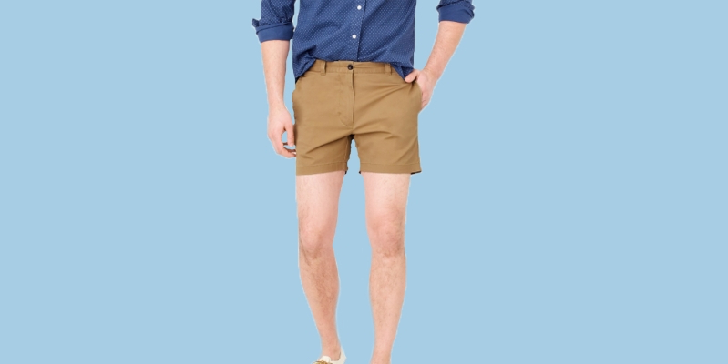 72e9b9601 Style: Get those man thighs ready: Short shorts for men are back ...