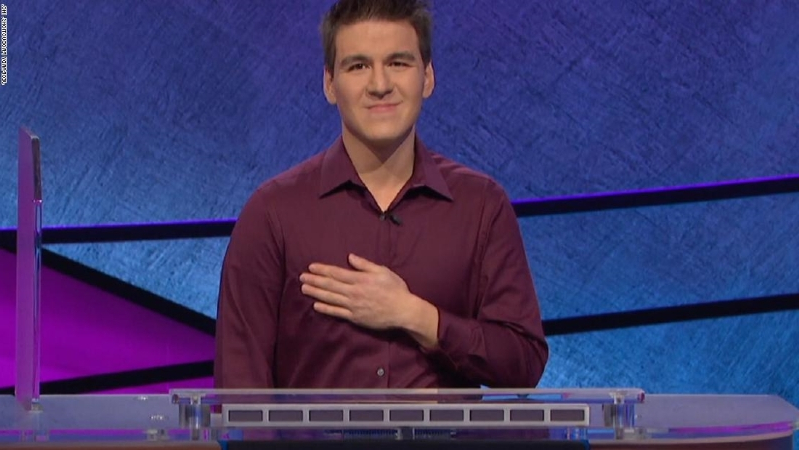 Entertainment: James Holzhauer, 'Jeopardy!' champ, wins