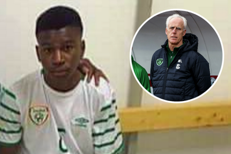 Republic of Ireland manager Mick McCarthy 'praying' for acid attack victim Tega Agberhiere