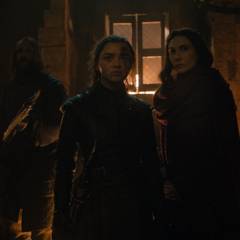 Game of Thrones: If Melisandre's Pep Talk With Arya Sounded Familiar, This Is Why