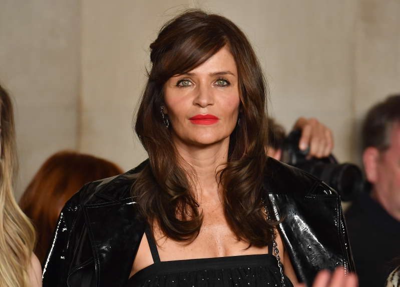new style ab590 bec9c Entertainment: Helena Christensen, 50, responds to fashion ...