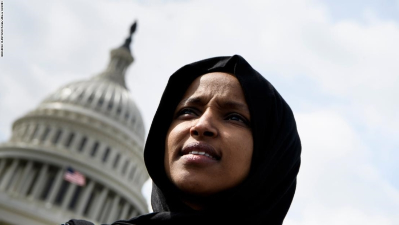 politics  ilhan omar blasts  u0026 39 demented views u0026 39  in first