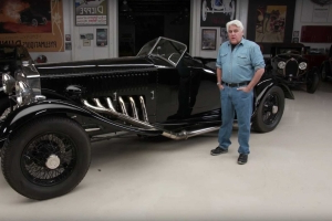 Jay Leno Drives His 1934 Rolls-Royce With V12 Merlin Engine