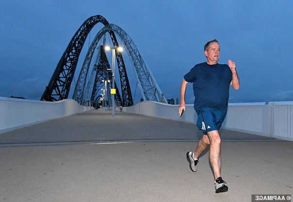 'He runs like Phoebe in Friends': Social media erupts after noticing Bill Shorten's VERY unique running style