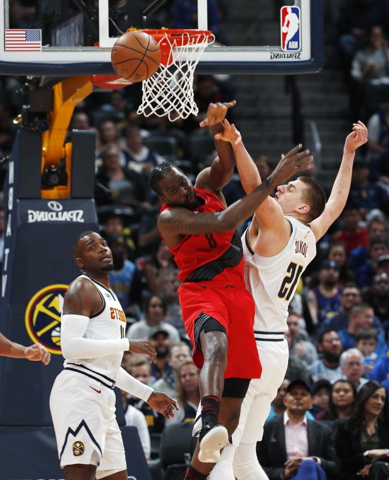 Nuggets Of Information: Sport: McCollum Leads Blazers Past Cold Nuggets, 97-90
