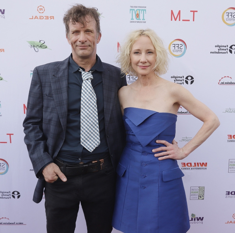Entertainment Is Anne Heche Dating Her Former Hung Costar Thomas