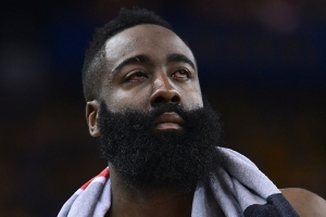 NBA playoffs 2019: Warriors reportedly 'not buying' the severity of James Harden's eye injuries
