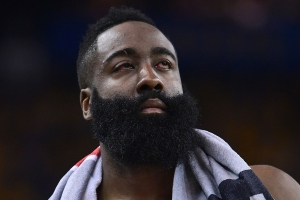 NBA playoffs 2019: Draymond Green inadvertently hits James Harden in eye again