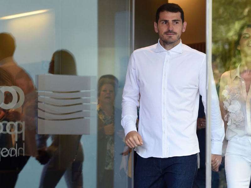 Casillas released from hospital following heart attack