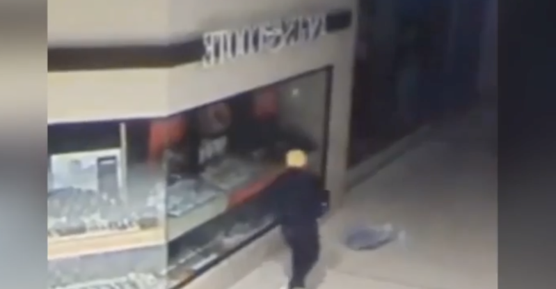 'Donald Trump Robber' Hunted After Jewellery Store Heist