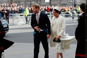 Meghan, Duchess of Sussex, Goes Into Labor