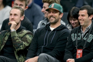 Aaron Rodgers Throws Shade at Paul Pierce After Celtics' Game 4 Loss