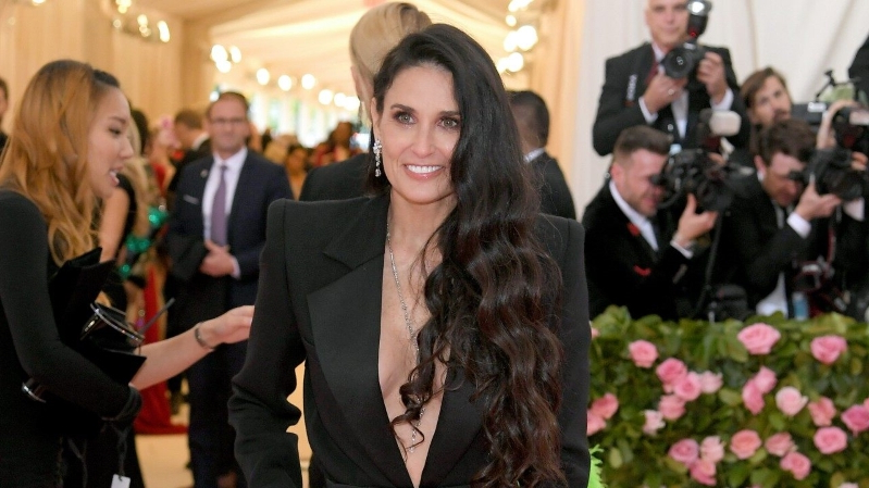 Demi Moore Attends First Met Gala in 8 Years