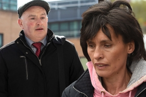 Imelda Quirke pictured as she visits killer husband Patrick Quirke in Mountjoy Prison