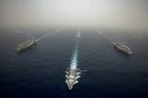 Iran dismisses US naval deployment as old news
