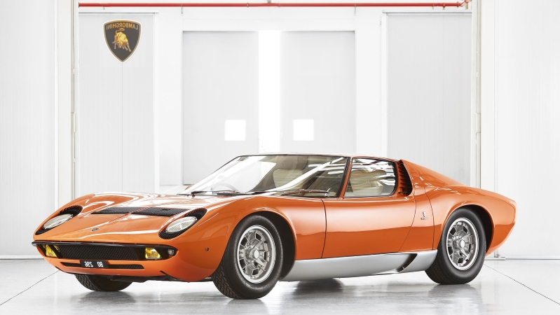 Ownership Lamborghini Certifies The Italian Job Miura Pressfrom