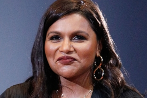 ea360c29 Mindy Kaling Goes Blonde at 2019 Met Gala — and Stuns in a Gold Sequin Dress