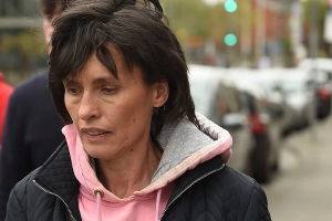 Pictured: Wife of convicted murderer Patrick Quirke seen for first time visiting husband in Mountjoy