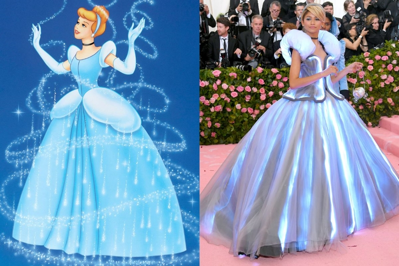 So Many Celebs Were Clearly Inspired by Disney Characters at the Met Gala