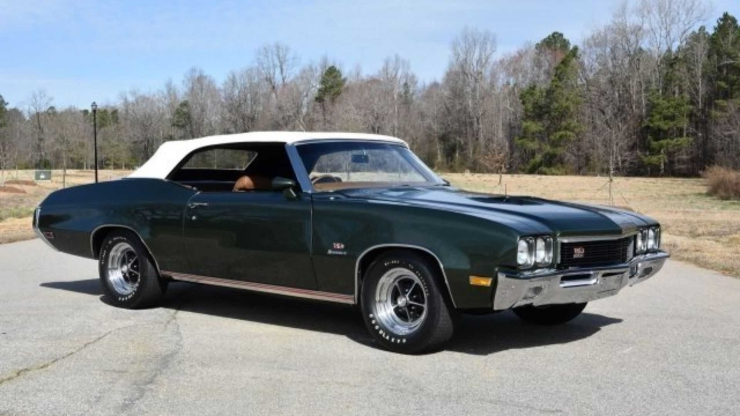 This 1972 Buick GS Stage 1 Is A Rare Beauty