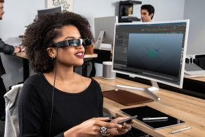 Epson's new augmented reality glasses can plug into your phone